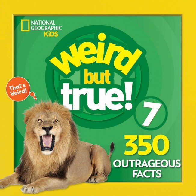 Weird but True! Volume 7 Book – National Geographic