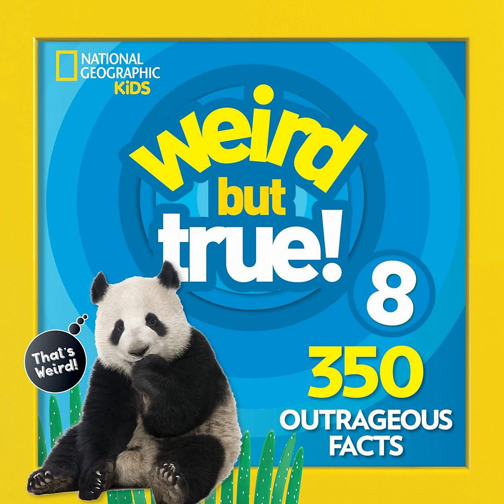 Weird but True! Volume 8 Book – National Geographic
