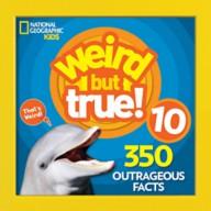 Weird but True! Volume 10 Book – National Geographic