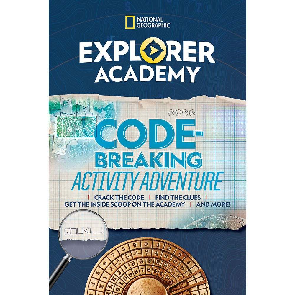 Explorer Academy Codebreaking Activity Adventure Book – National Geographic