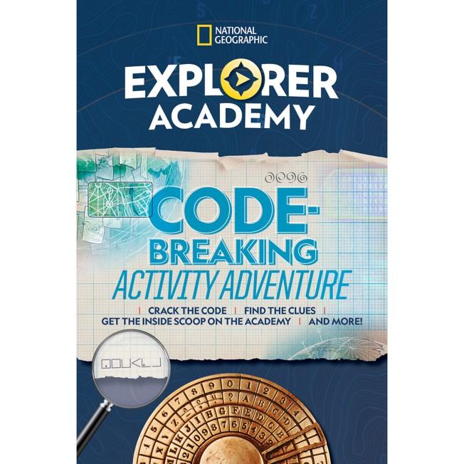 Explorer Academy Codebreaking Activity Adventure Book – National Geographic