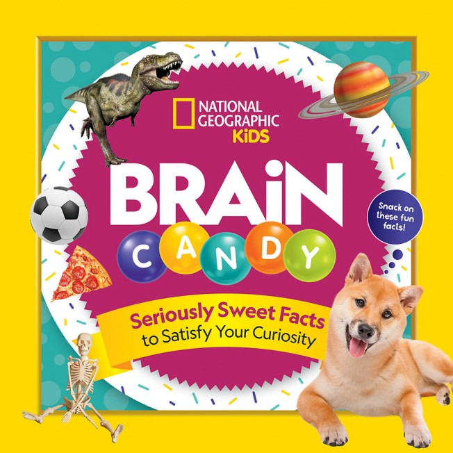 Brain Candy: 500 Sweet Facts to Satisfy Your Curiosity Book – National Geographic
