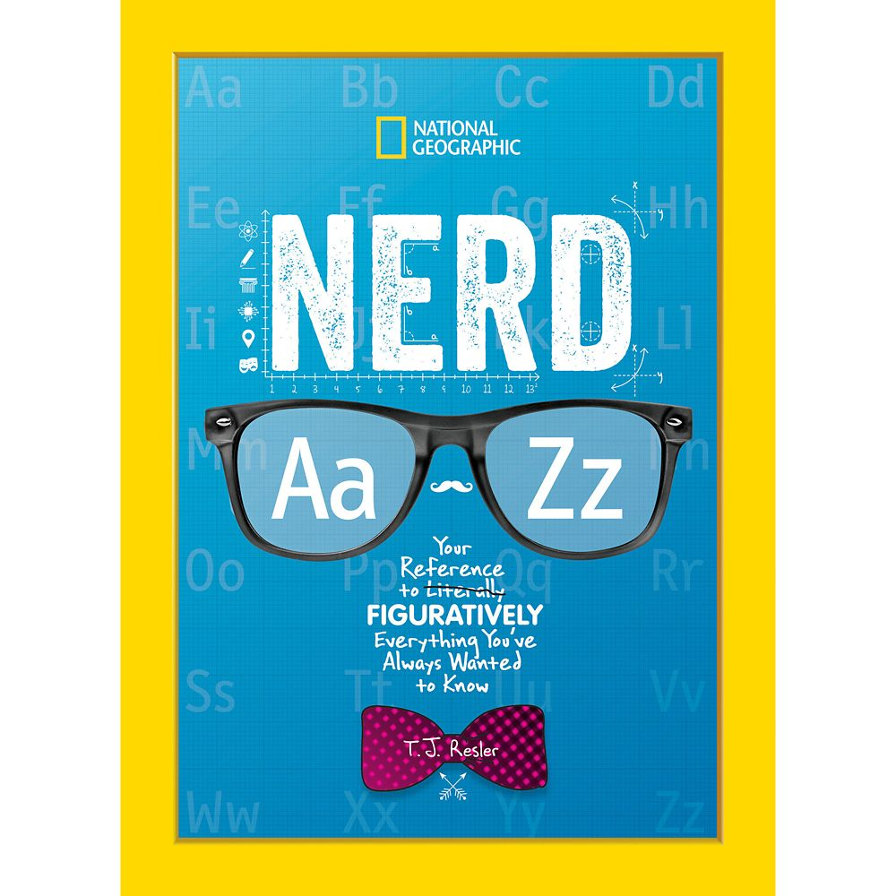 Nerd A to Z Book – National Geographic