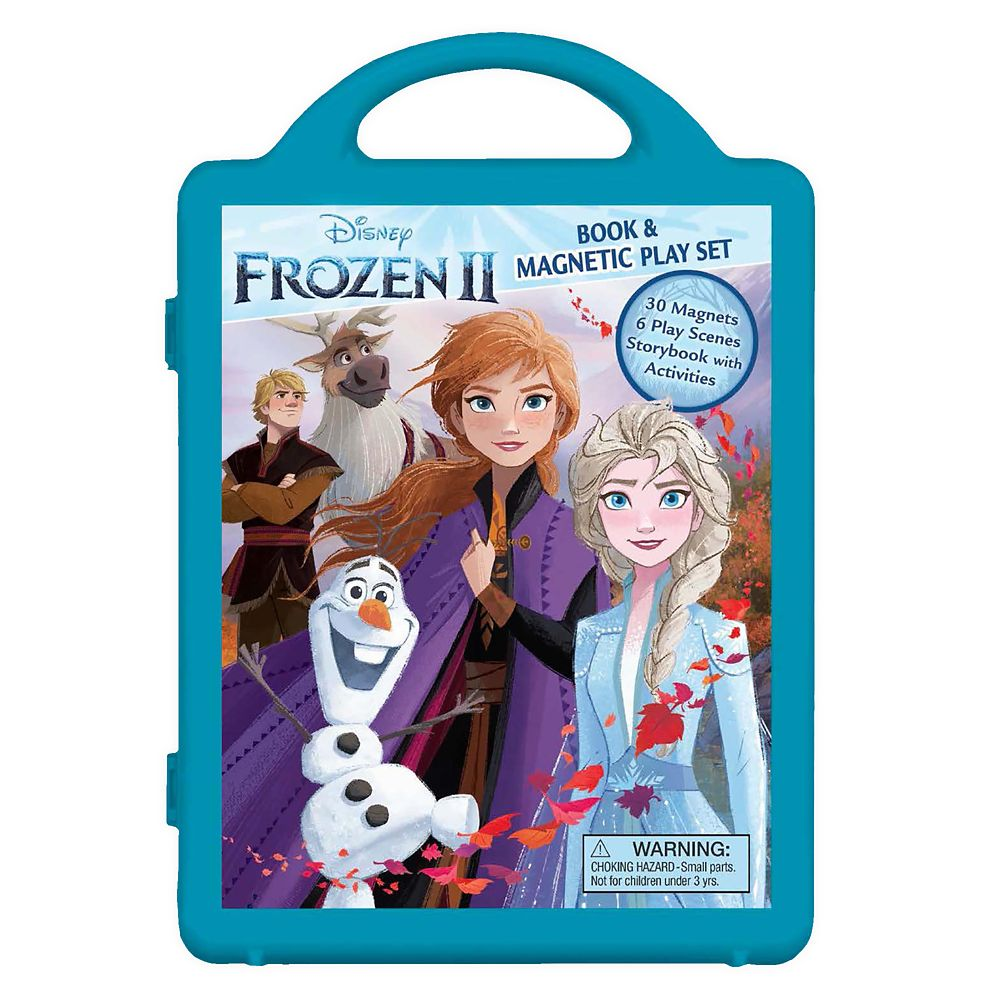 Frozen 2 Book and Magnetic Play Set