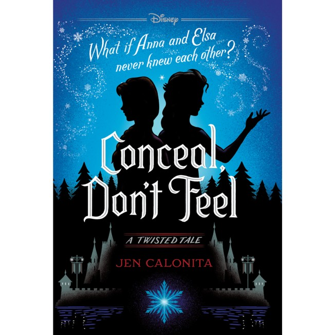 Frozen: Conceal Don't Feel Book