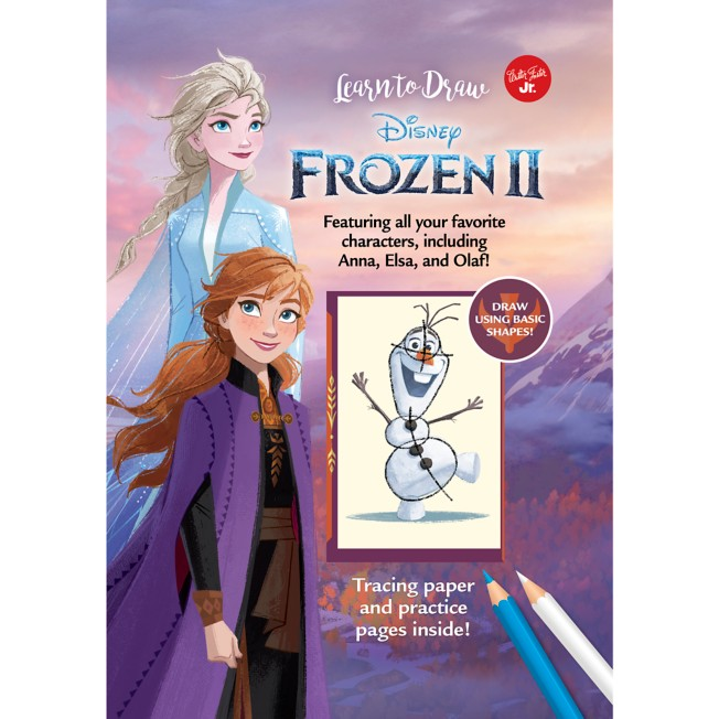 Frozen 2: Learn to Draw Book
