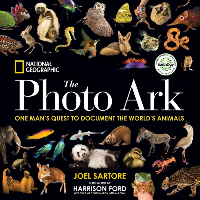 National Geographic the Photo Ark Limited Earth Day Edition: One Man's Quest to Document the World's Animals Book