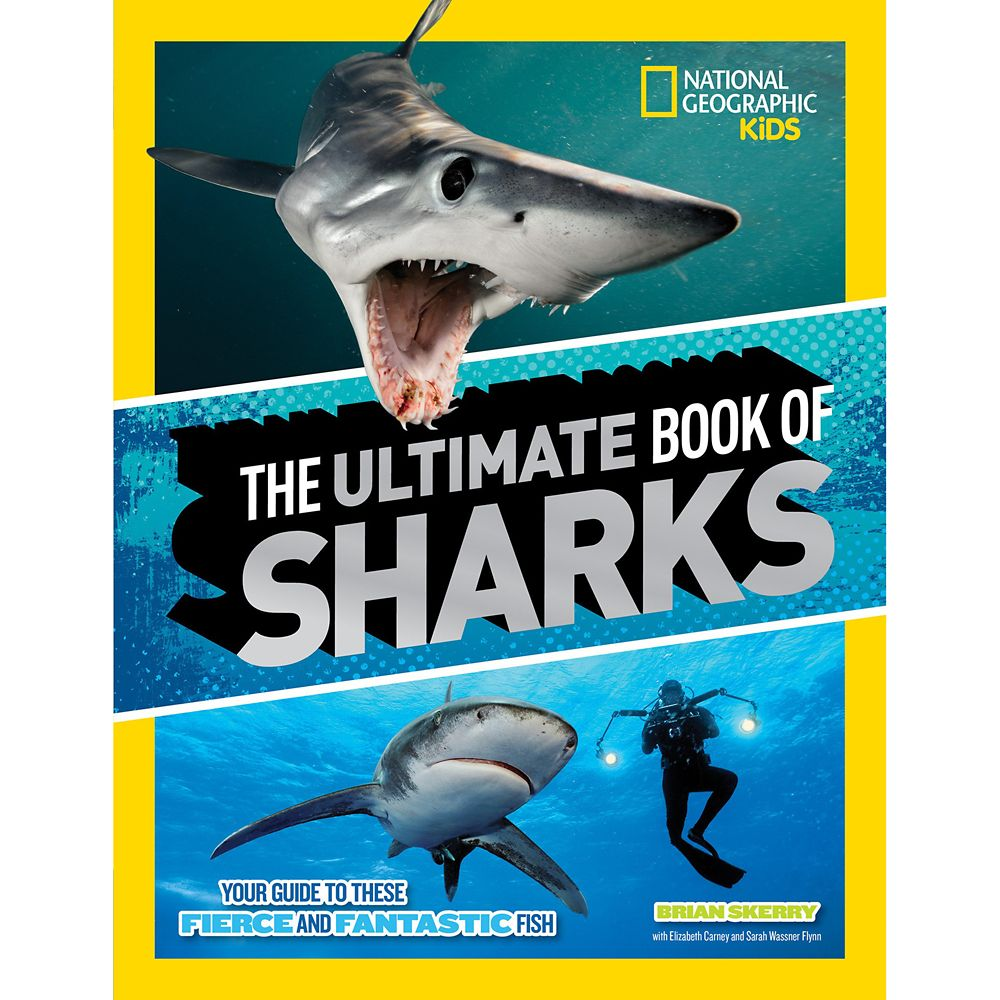 The Ultimate Book of Sharks – National Geographic