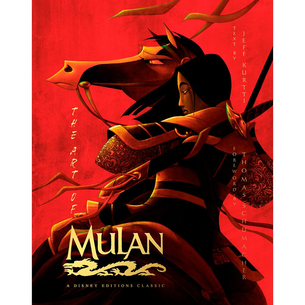 The Art of Mulan Book