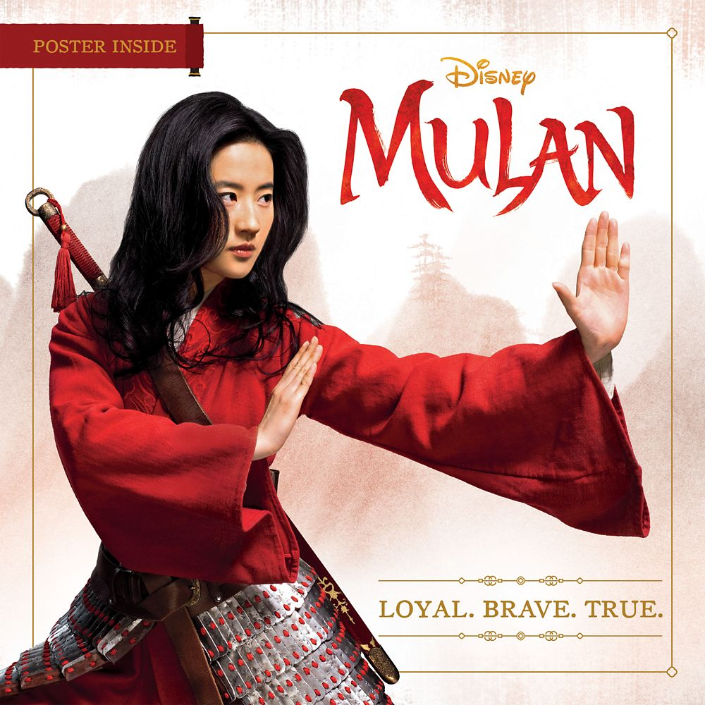 Mulan: Live Action Film Loyal Brave True Book with Poster