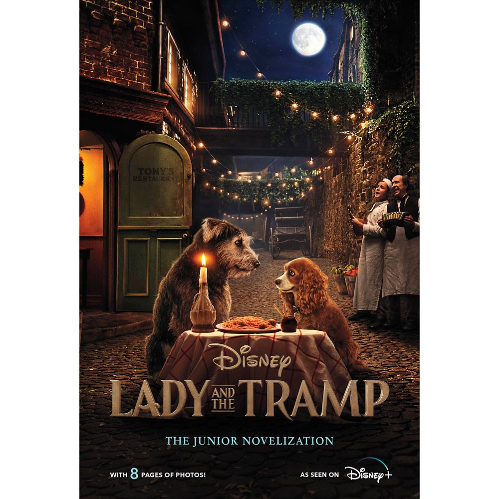 Lady and the Tramp The Junior Novelization Book