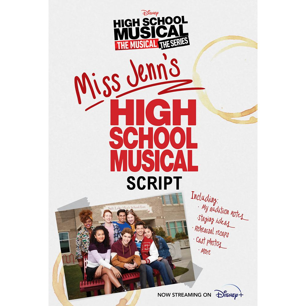 Miss Jenn's High School Musical Script Book