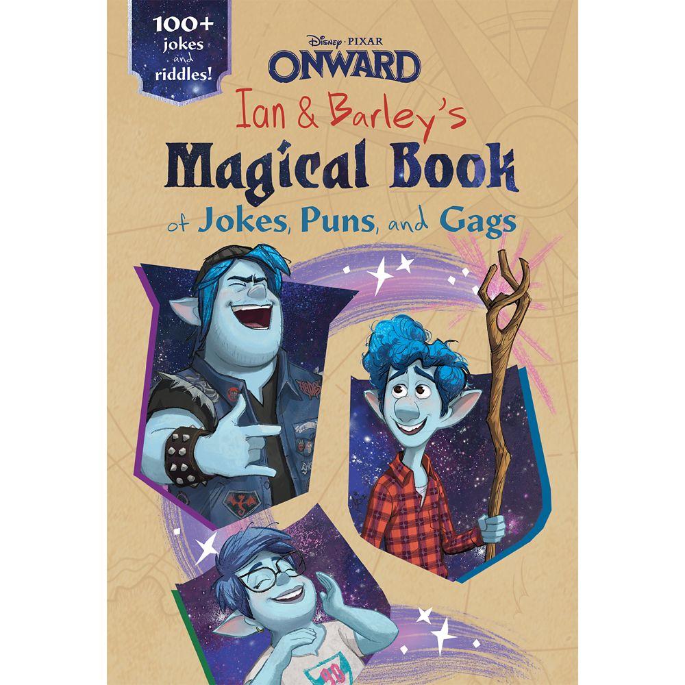 Onward: Ian and Barley's Magical Book of Jokes, Puns & Gags