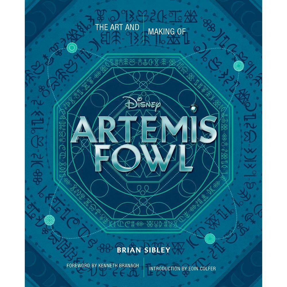 Art and Making of Artemis Fowl Book