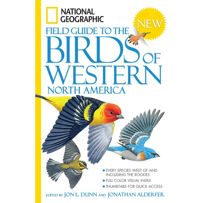 Field Guide to the Birds of Western North America – National Geographic
