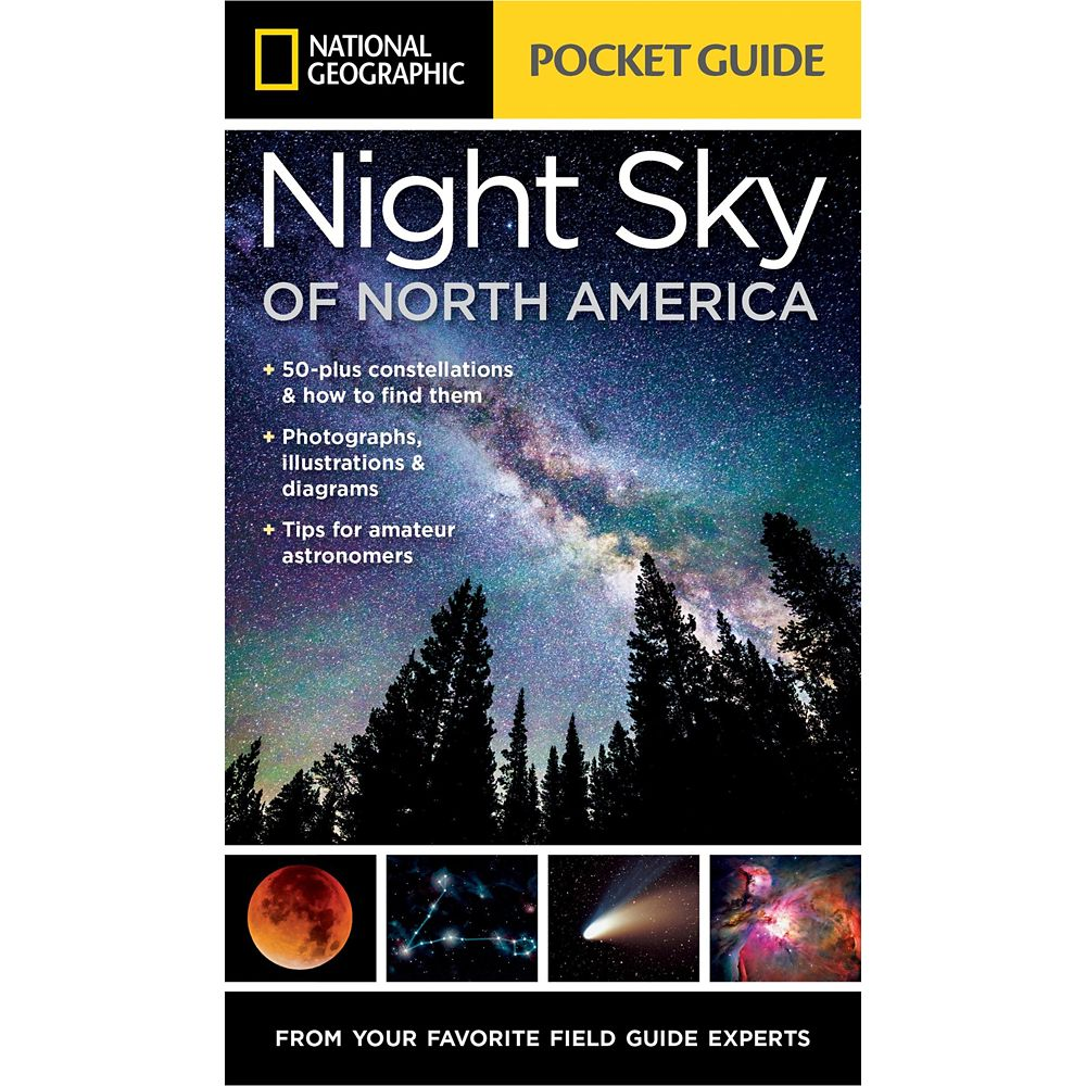 Pocket Guide to the Night Sky of North America Book – National Geographic