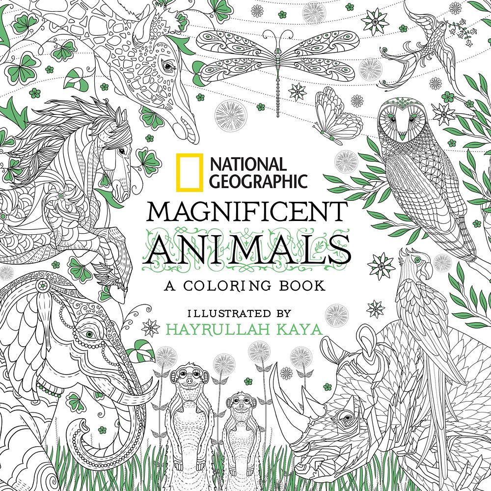 Magnificent Animals: A Coloring Book – National Geographic