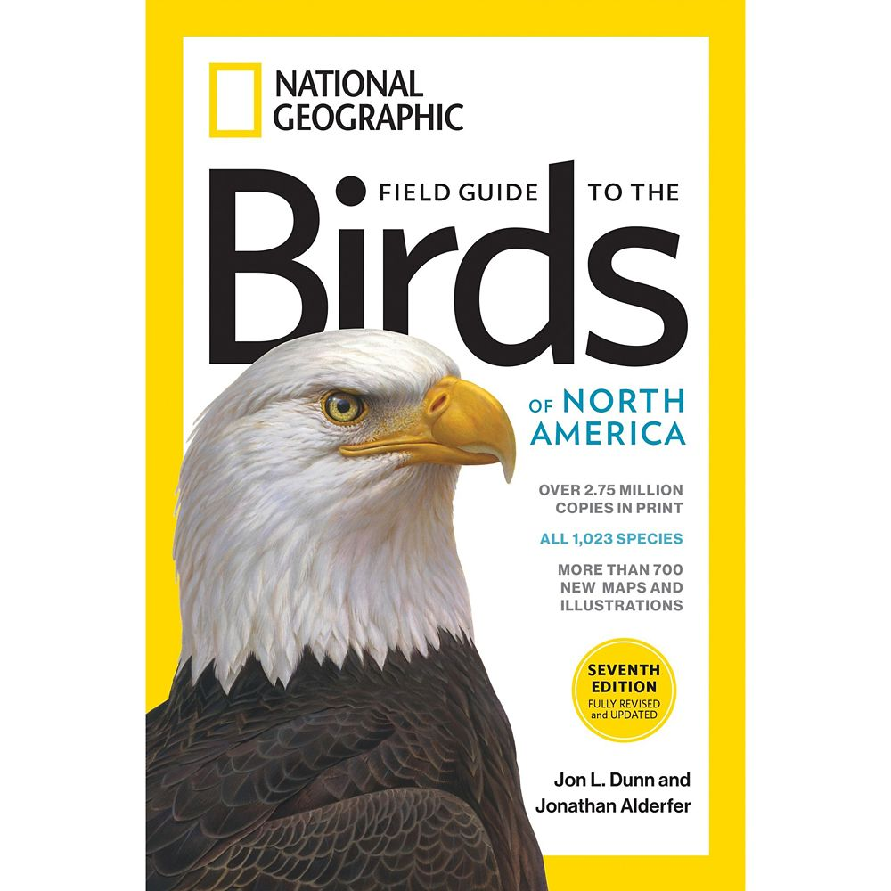 National Geographic Field Guide to the Birds of North America Book, Seventh Edition