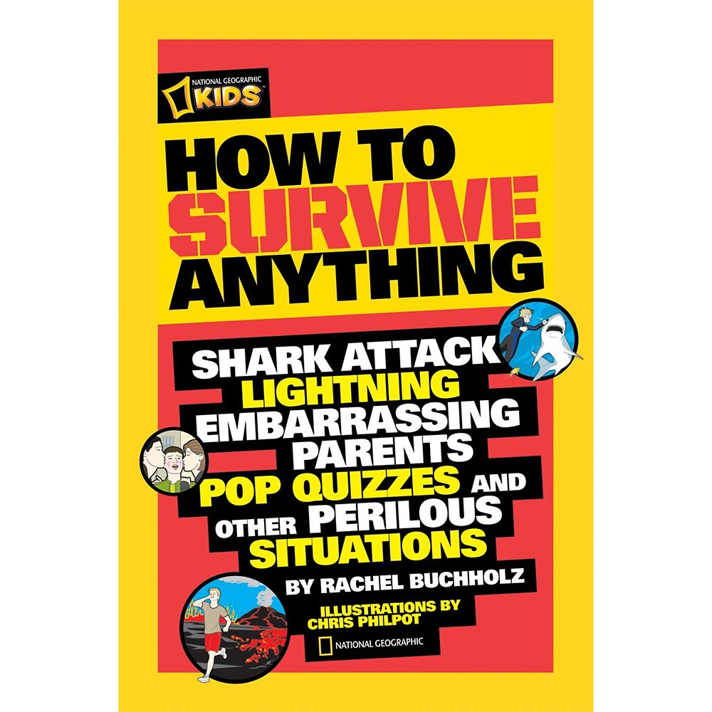 How to Survive Anything Book – National Geographic