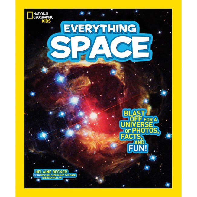 Kids Everything Space Book – National Geographic