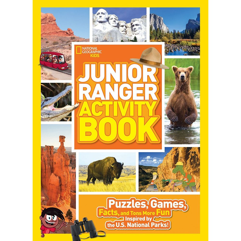Junior Ranger Activity Book: Puzzles, Games, Facts, and Tons More Fun Inspired by the U. S. National Parks – National Geographic