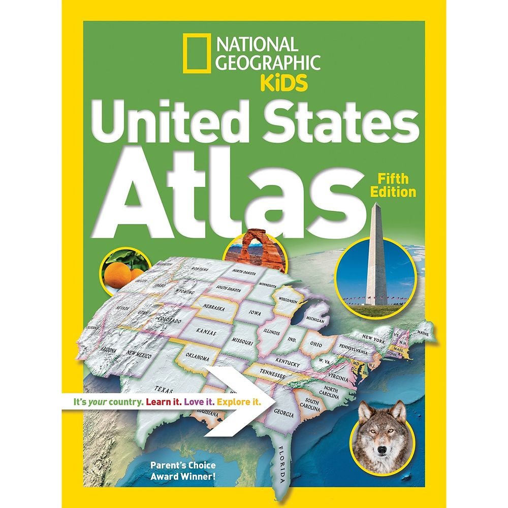 National Geographic Kids United States Atlas Book
