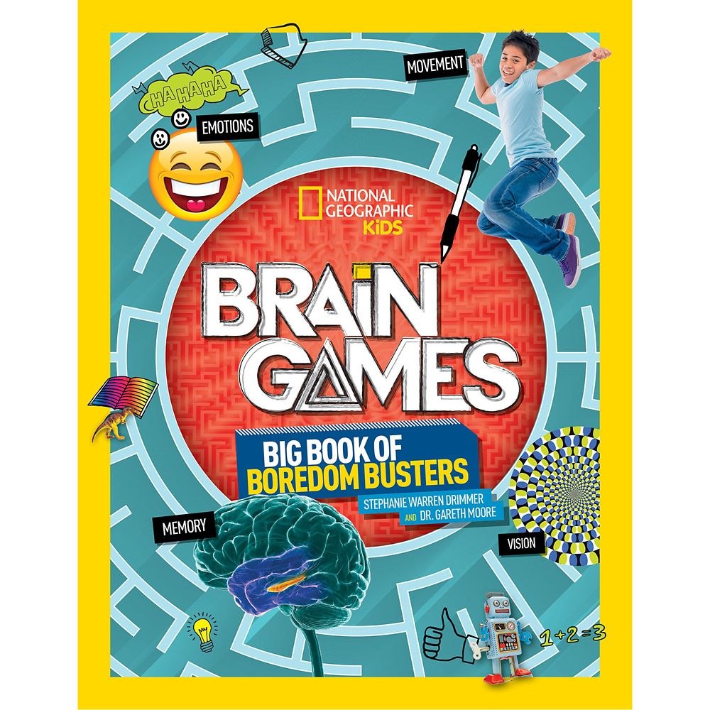 Brain Games: Big Book of Boredom Busters – National Geographic