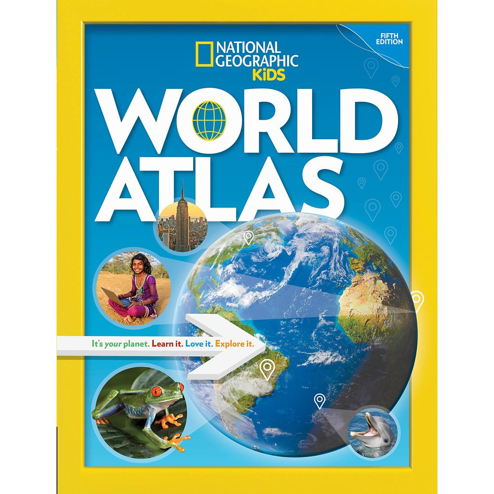 National Geographic Kids World Atlas Book, Fifth Edition