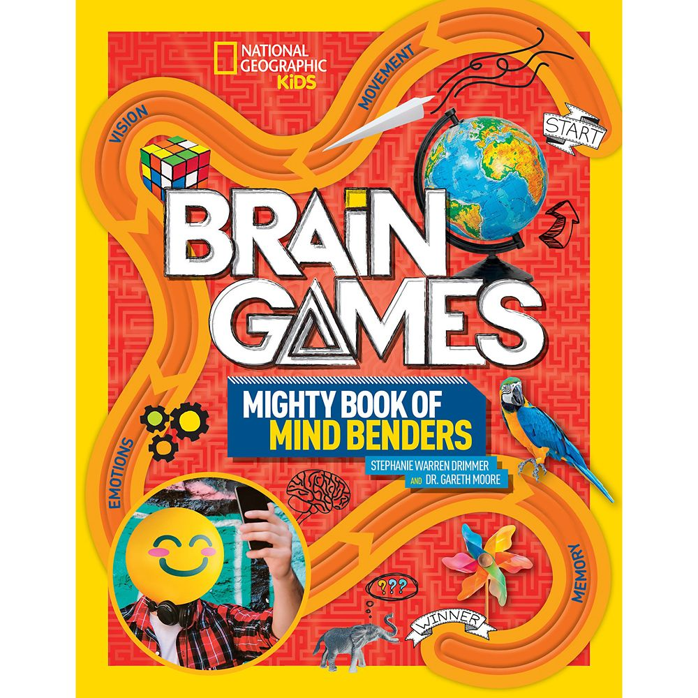 Brain Games: Mighty Book of Mind Benders – National Geographic