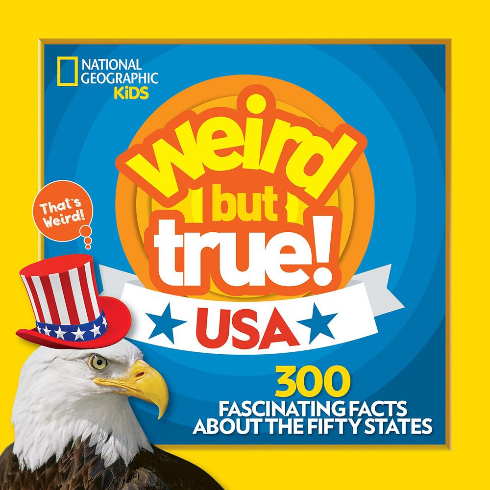 Weird But True: USA Book – National Geographic