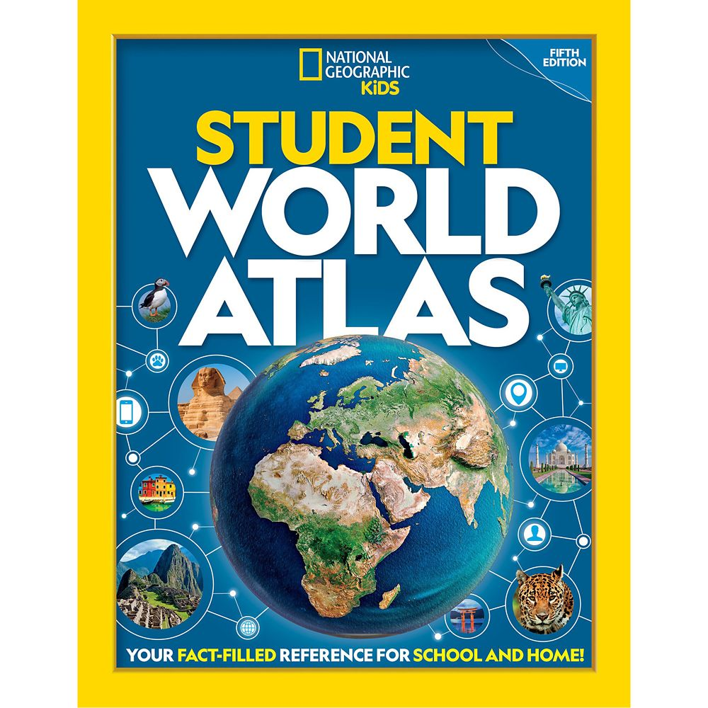 National Geographic Student World Atlas Book, Fifth Edition