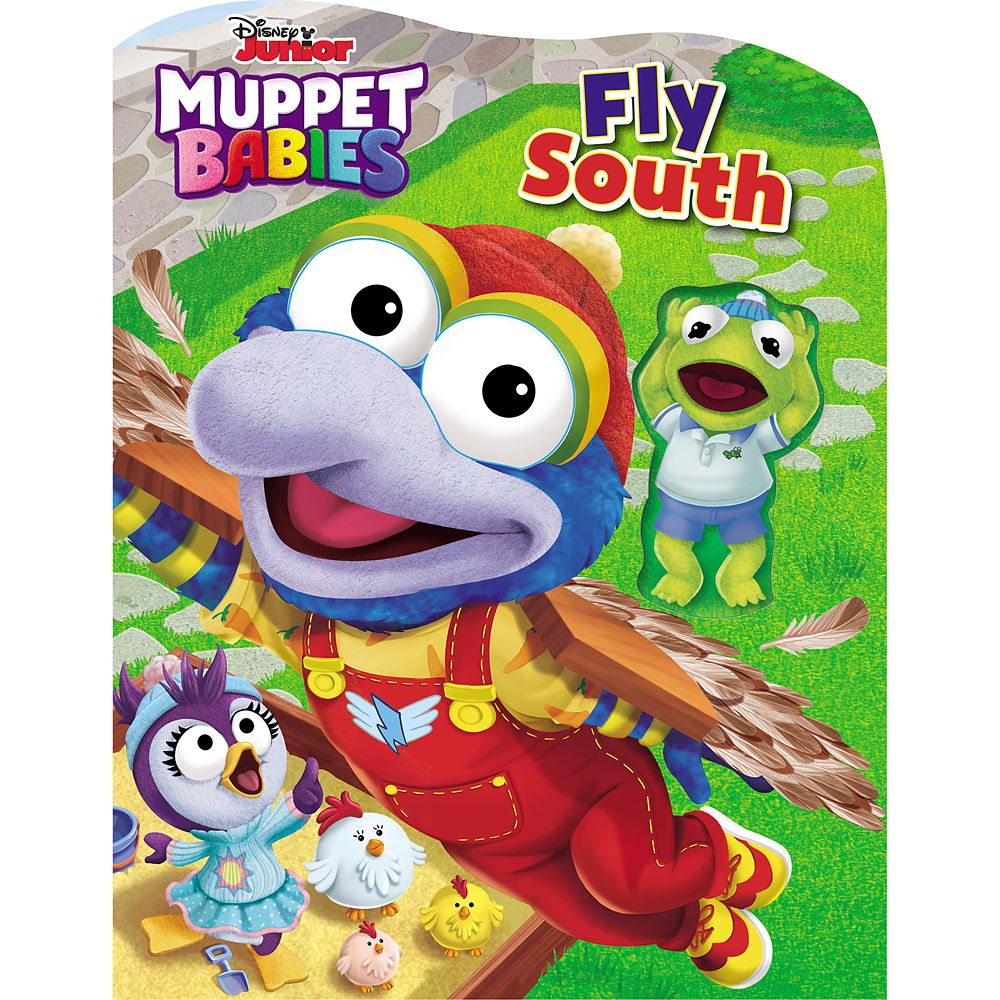 Disney Muppet Babies Fly South Book