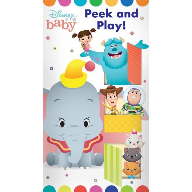 Disney Baby: Peek and Play Book