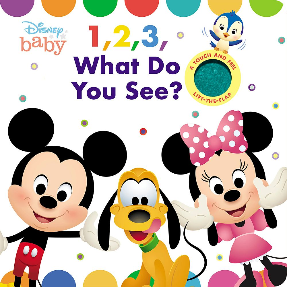 Disney Baby: 1, 2, Peek-A-Boo! Book