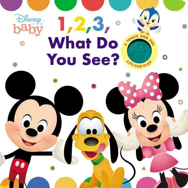 Disney Baby: 1, 2, Peek-A-Boo! Book