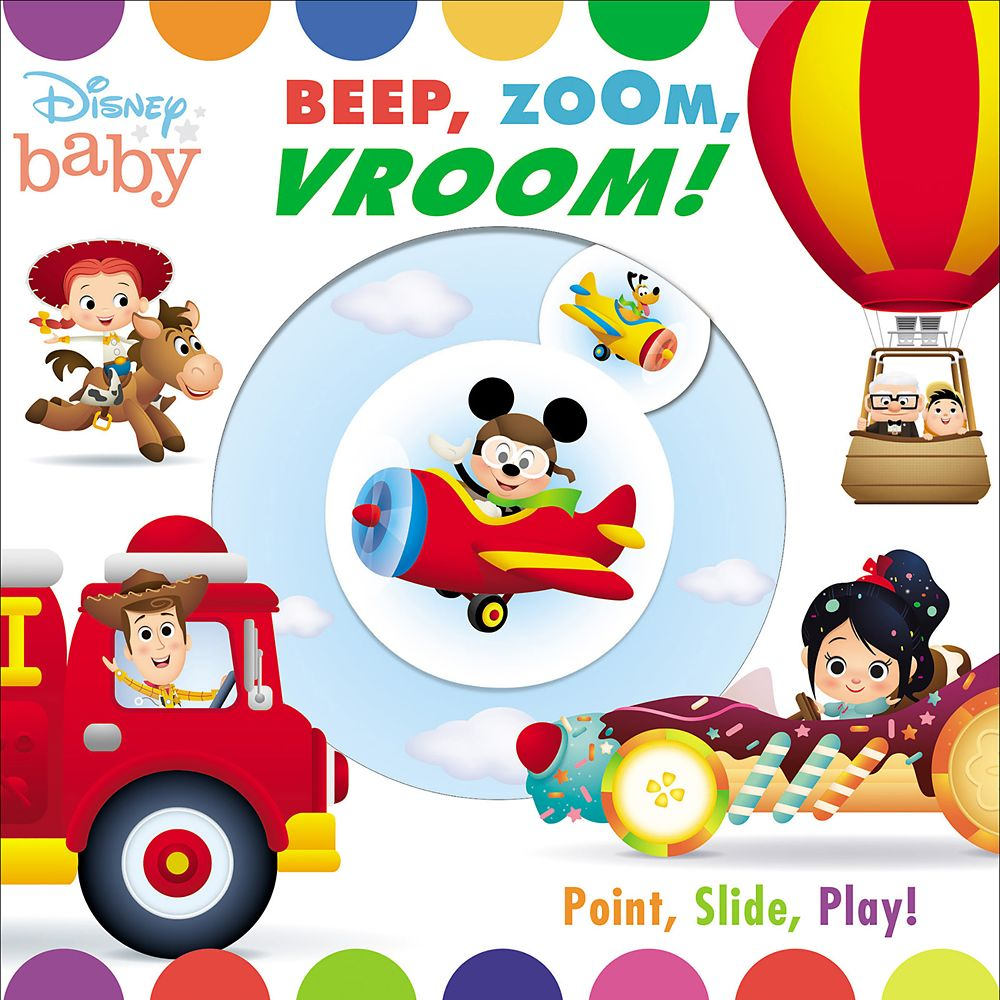 Disney Baby: Beep, Zoom, Vroom! Book