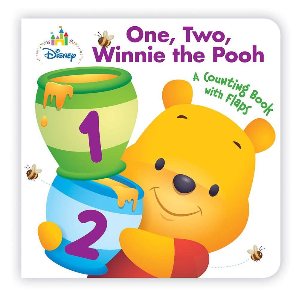 Disney Baby: One, Two, Winnie the Pooh Book