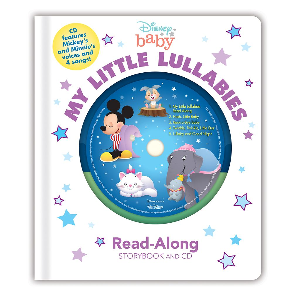 Disney Baby: My Little Lullabies Read-Along Storybook and CD
