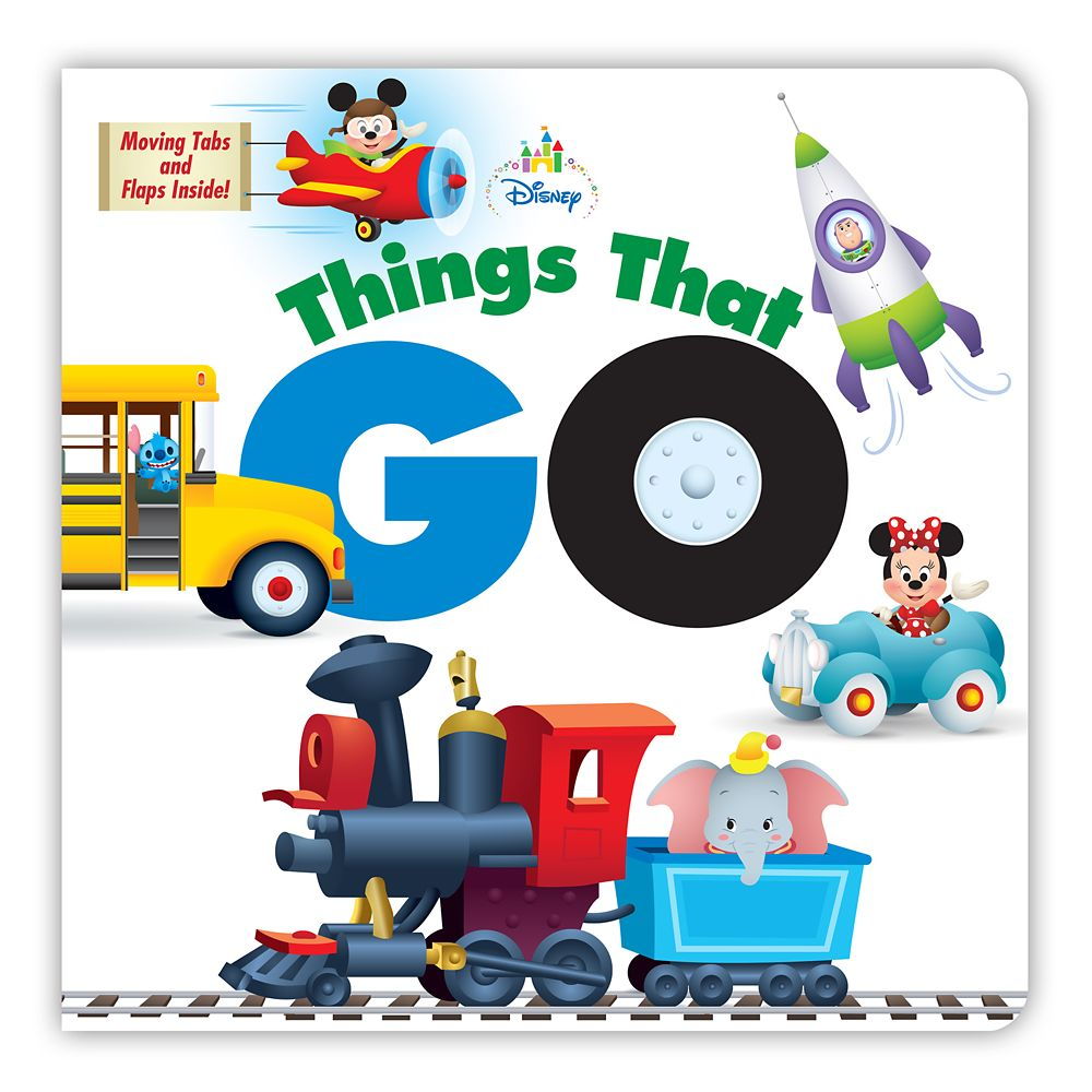 Disney Baby Things That Go Book