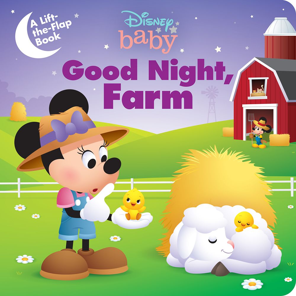 Disney Baby: Good Night, Farm Book