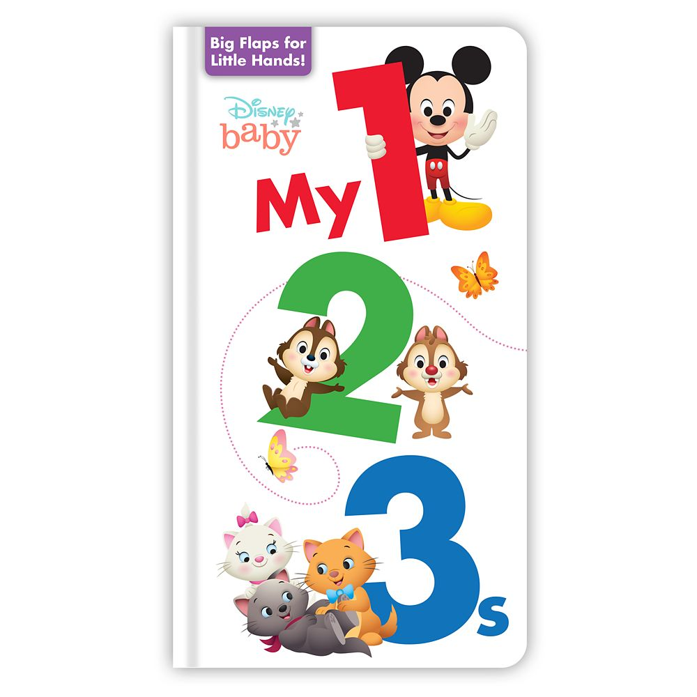 Disney Baby: My 1, 2, 3s Book
