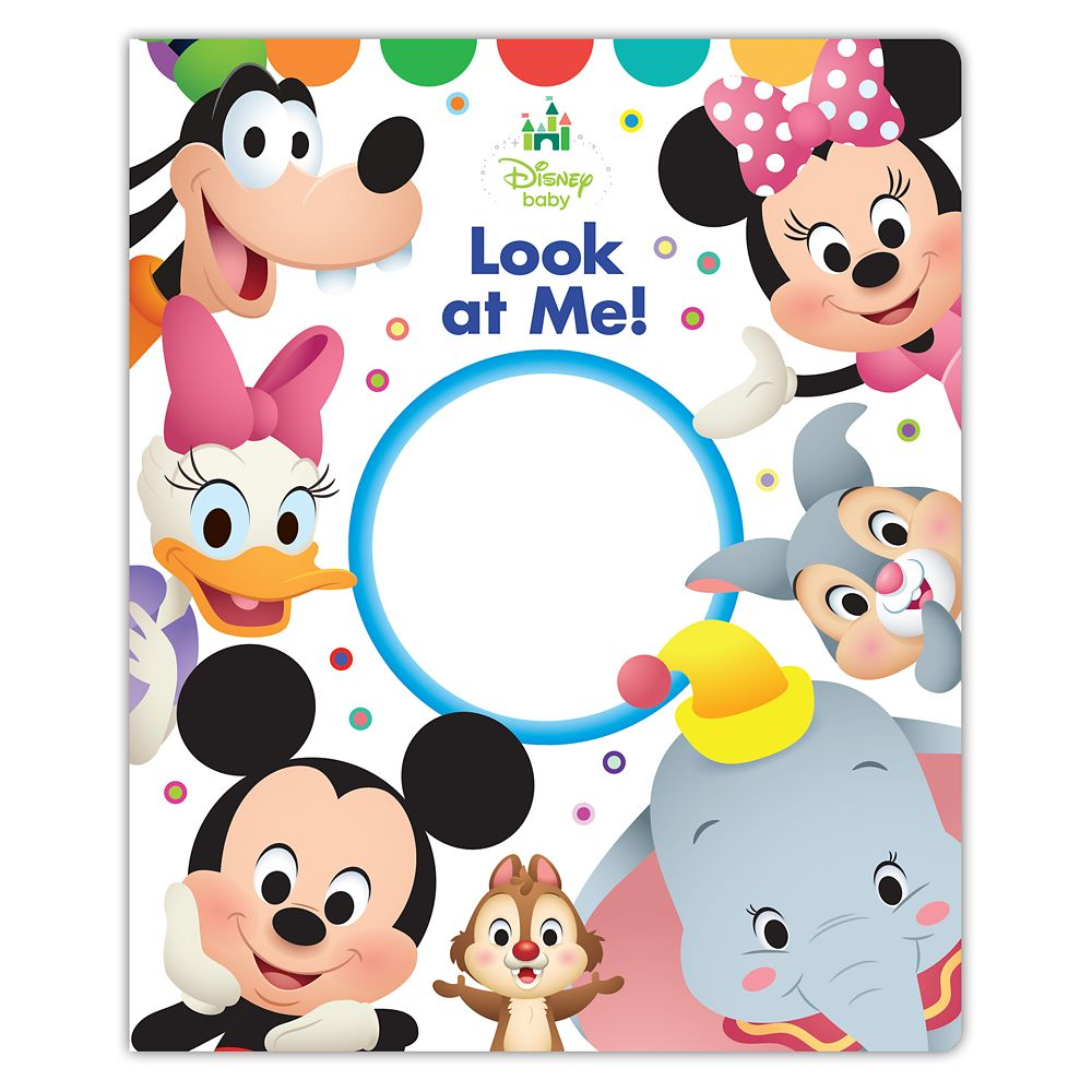 Disney Baby: Look at Me! Book