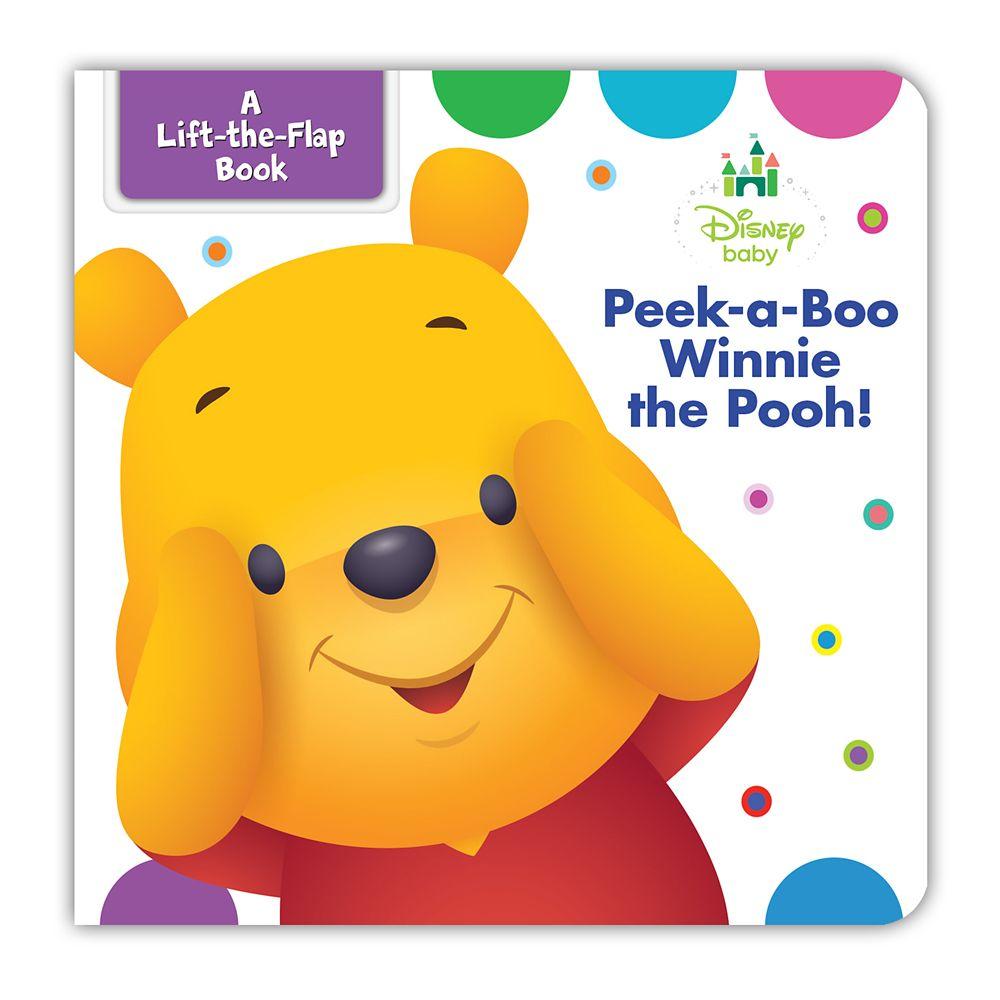 Disney Baby: Peek-A-Boo Winnie the Pooh Book