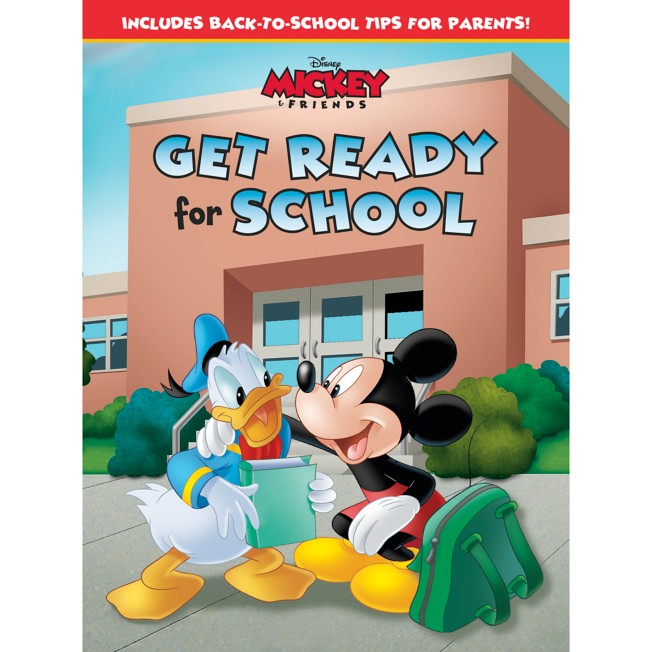 Mickey & Friends Get Ready for School Book
