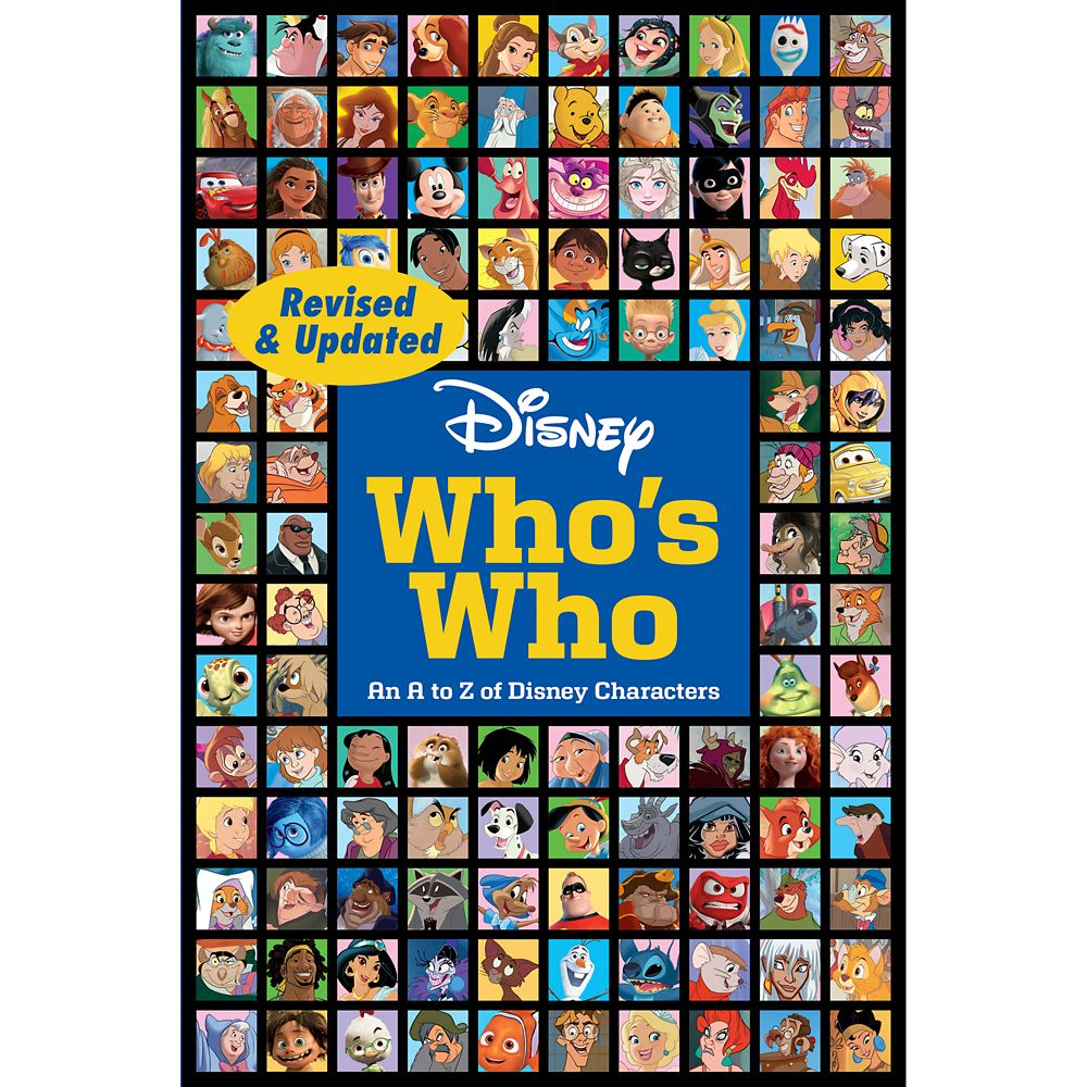 Disney's Who's Who Book