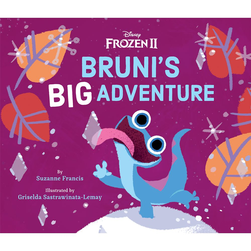 Frozen 2: Bruni's Big Adventure Book