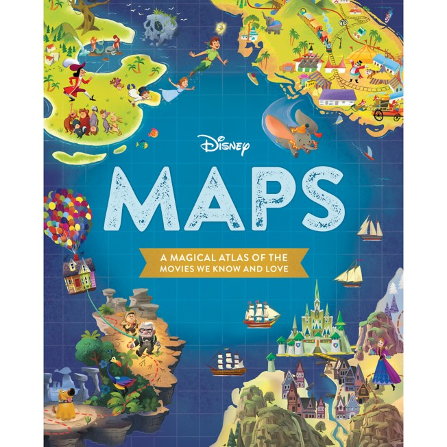Disney Maps:A Magical Atlas of the Movies We Know and Love