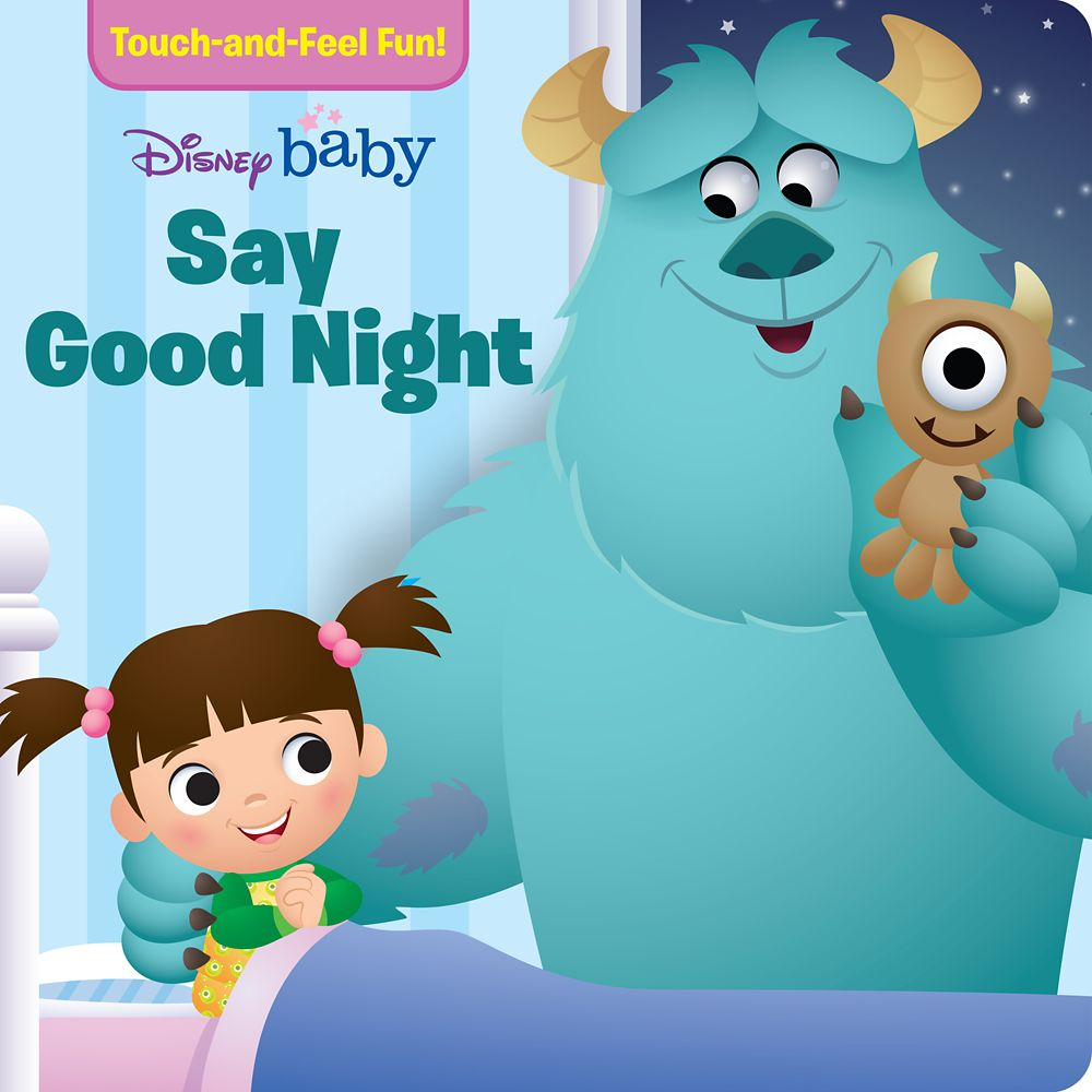 Disney Baby Say Good Night Book