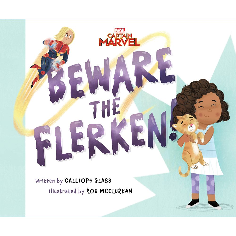 shopdisney.com - Captain Marvel: Beware the Flerken! Book Official shopDisney 12.99 USD