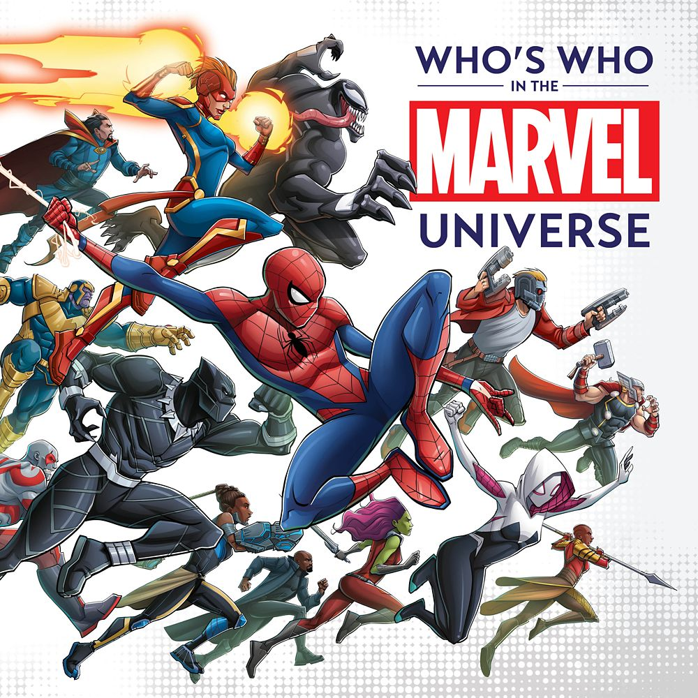 Who's Who in the Marvel Universe Book